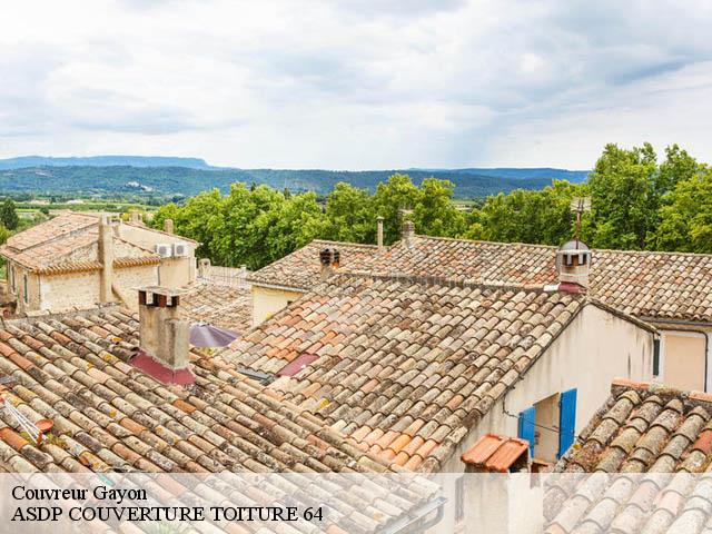 Couvreur  gayon-64350 ASDP COUVERTURE TOITURE 64